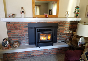 fireplace installation and chimney cleaning